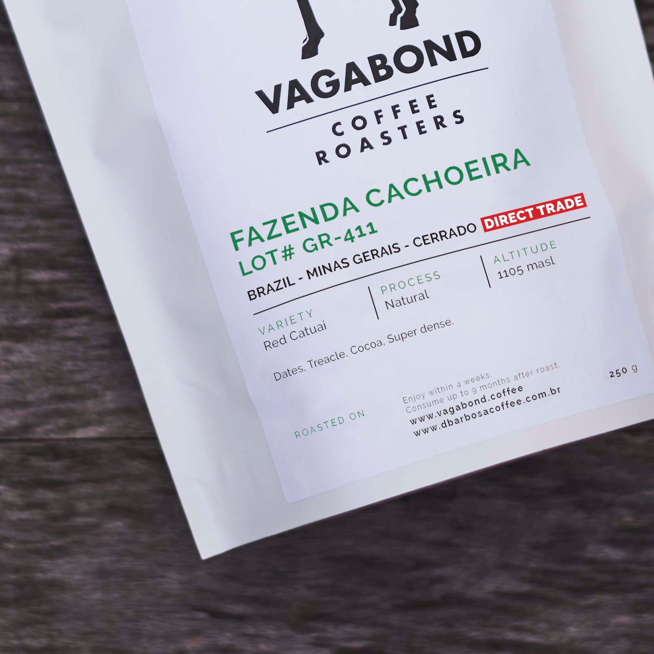 Fazenda Cachoeira - Lot#GR-411 | Brazil | Direct Trade