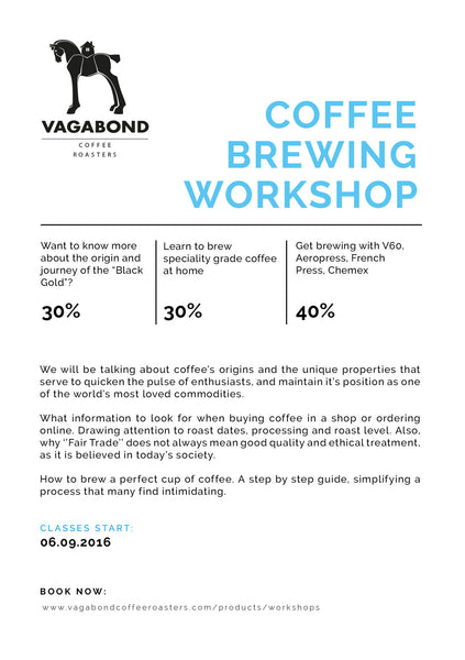 COFFEE BREWING WORKSHOP