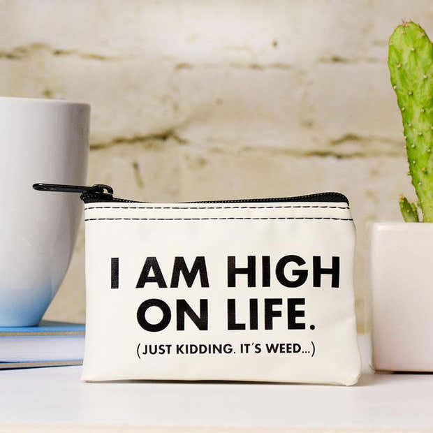 I'm High on Life. Stash pouch. Case Pack of 12 1