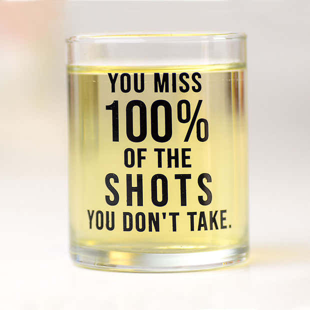 You miss 100% of the shots you don't take... Case Pack of 12. 1