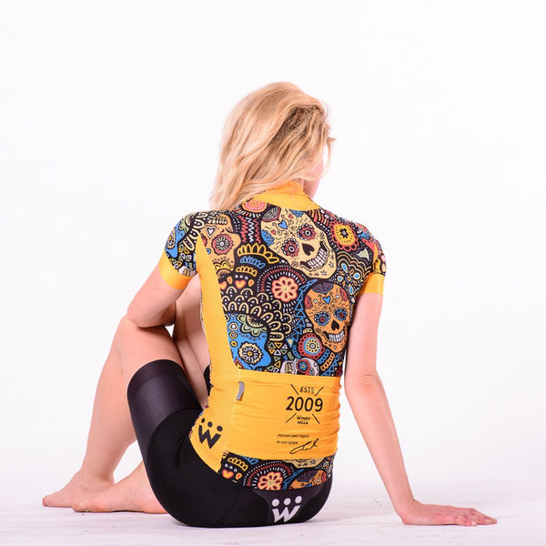 Mexican Candy Skull Jersey - Aero Cut