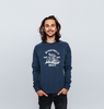 Inverted 'Skeleton Bike'  Sweatshirt