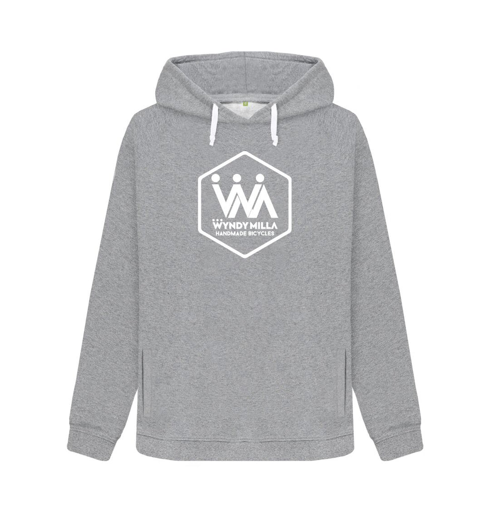 Light Heather WyndyMilla Women's 'Hexagon' Hoodie
