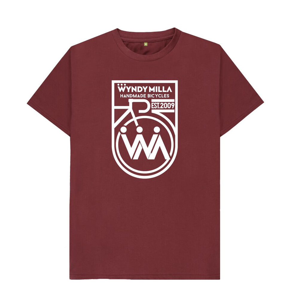 Red Wine WyndyMilla 'Inverted Shield' T-shirt