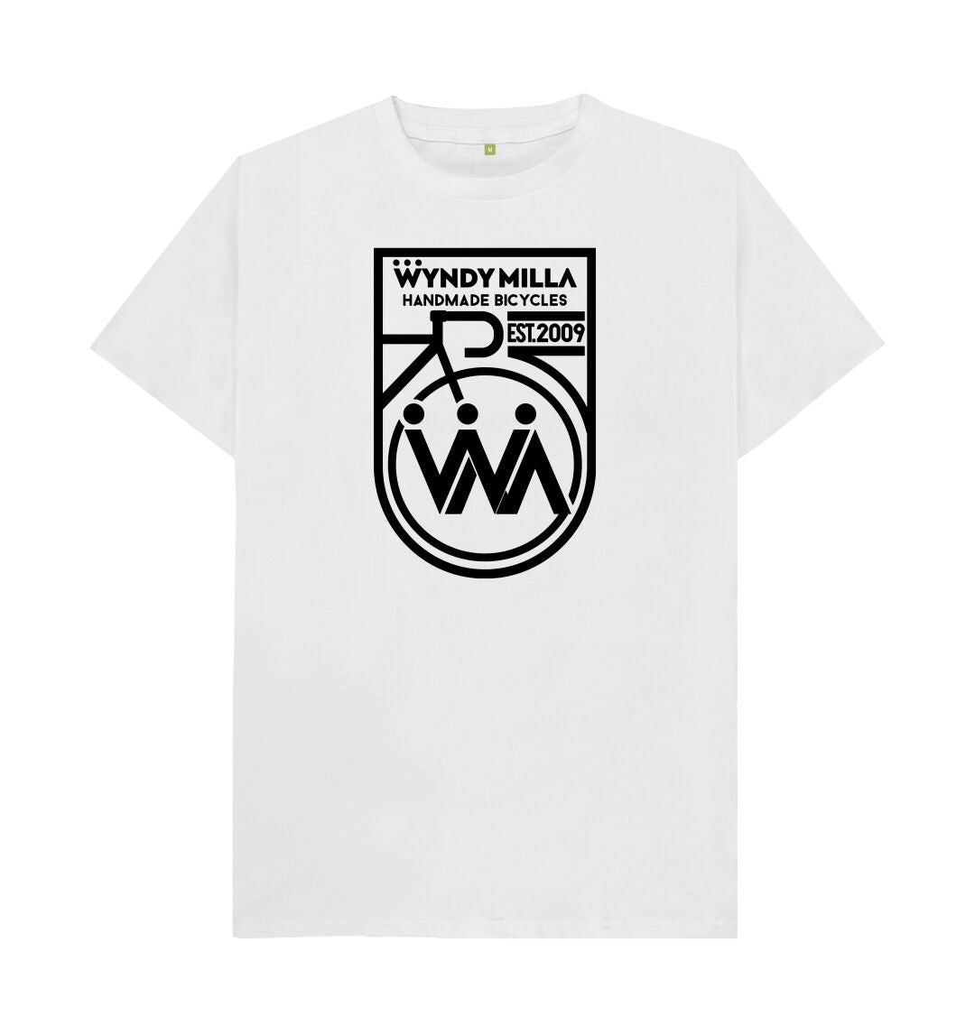 White WyndyMilla 'Shield' T-shirt