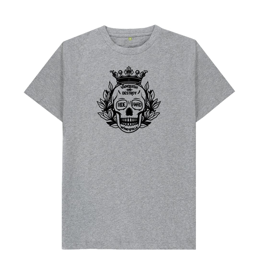 Athletic Grey 'Vanquish And Destroy' T-shirt