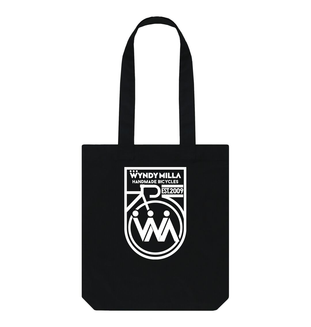 Black WyndyMilla 'Inverted Shield' Tote bag