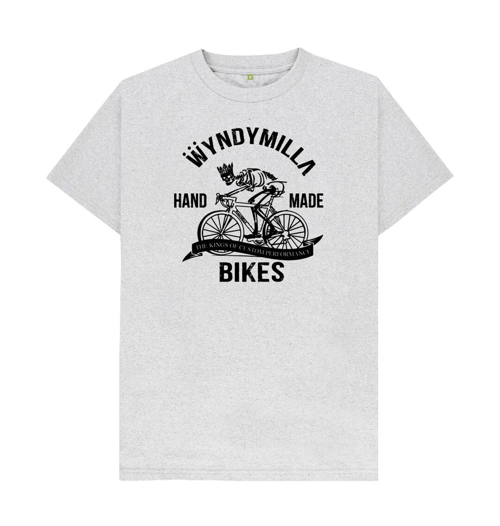 Grey Remill 'Skeleton Bike'  T-shirt