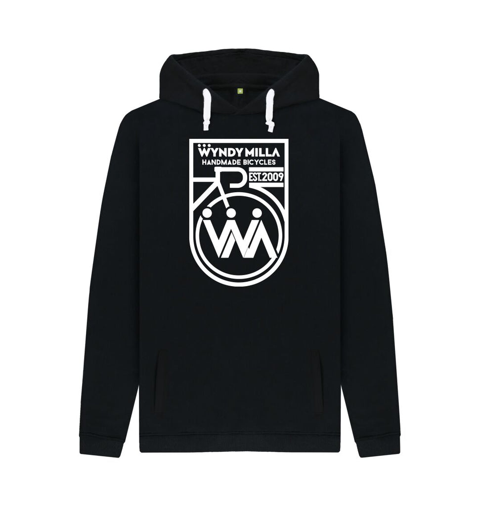 Black Inverted WyndyMilla 'Shield' Hoodie