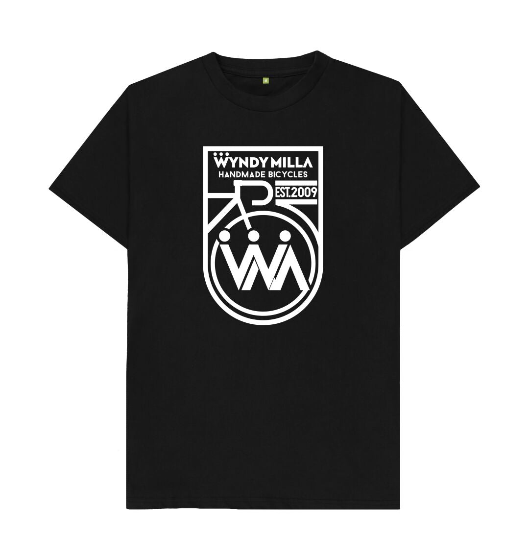 Black WyndyMilla 'Inverted Shield' T-shirt