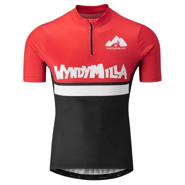 Wool Blend Jersey Skimmed Red