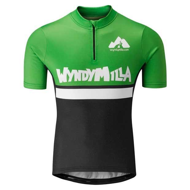 Wool Blend Jersey Semi Skimmed Green