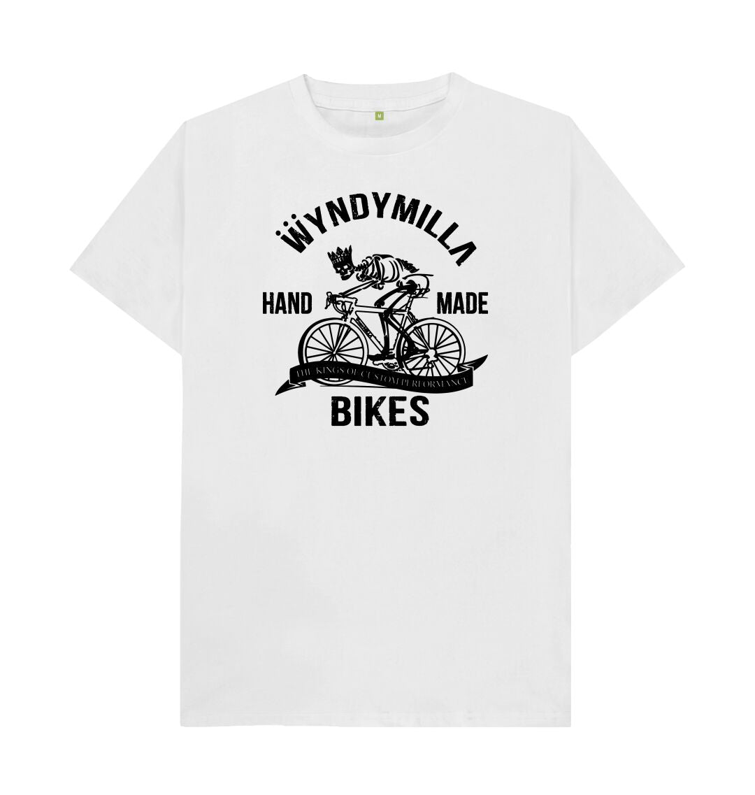 White 'Skeleton Bike' T-shirt
