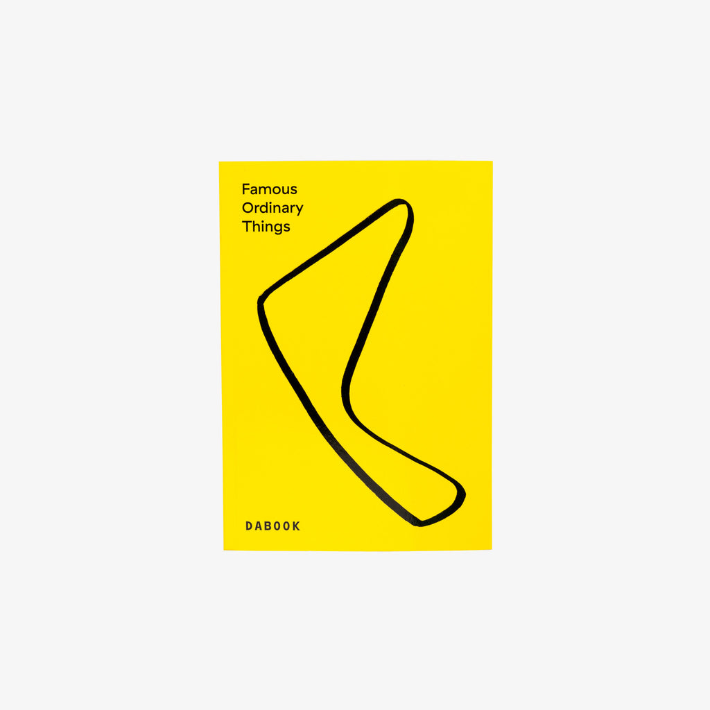 Famous Ordinary Things, book, swiss, design culture, Meret Ernst, DABOOK, DADADUM