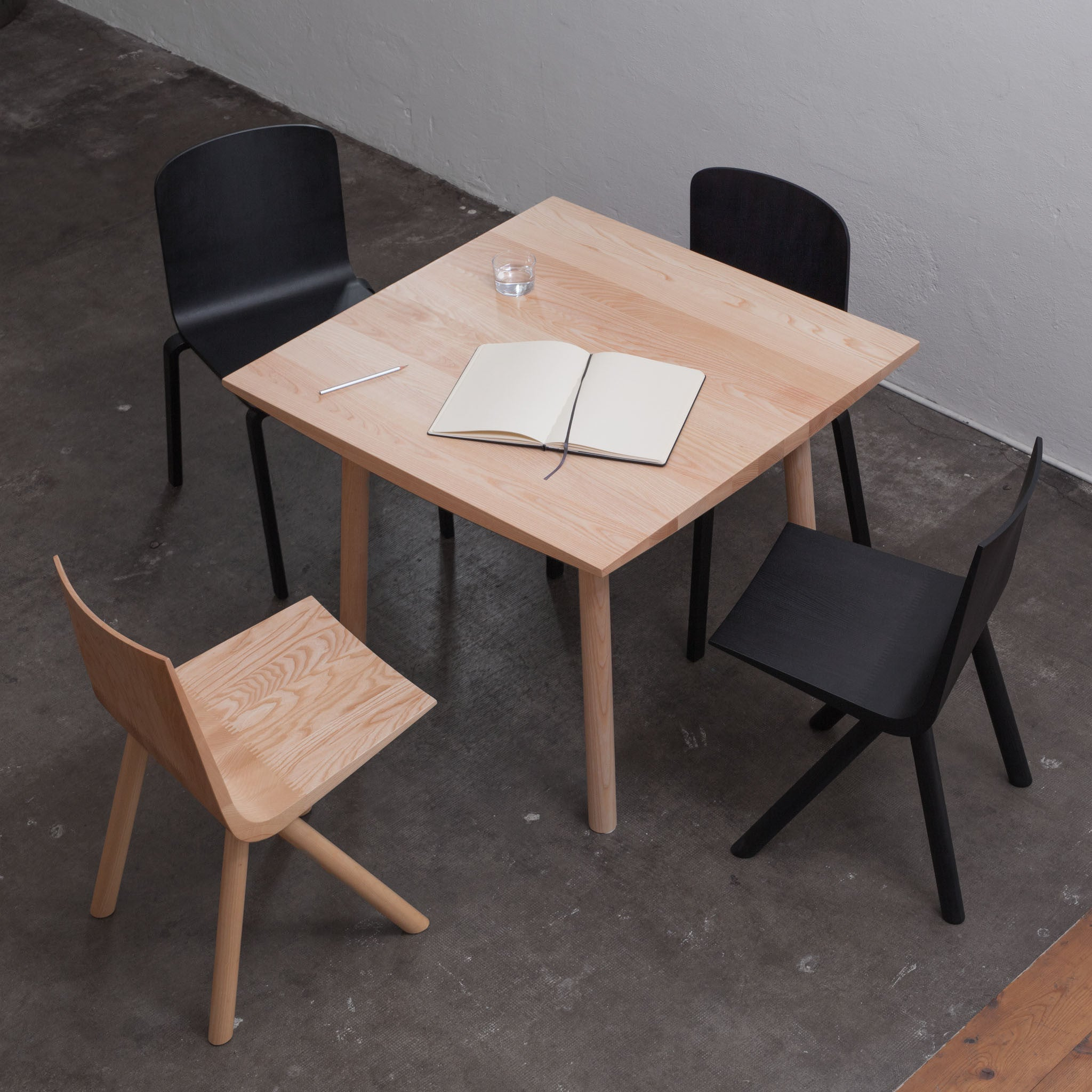Cresta, chair, dining, solid wood, seat, Jörg Boner, DADADUM