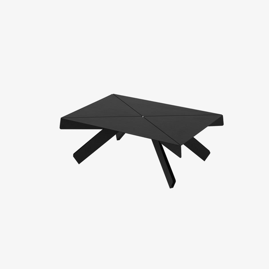 Origami Coffee Table Charcoal   DADADUM