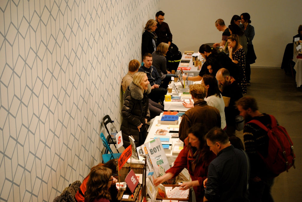 Mostly Flat at BABE (Bristol Artists Book Event) in 2015