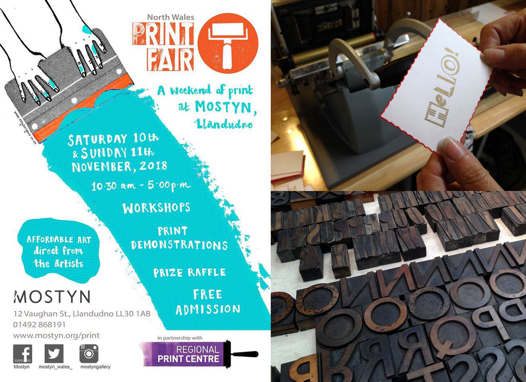 2018 North Wales Print Fair at Mostyn Gallery