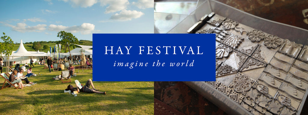 2016 Hay Festival letterpress taster workshop