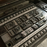 The End of the World is Neigh letterpress mini print