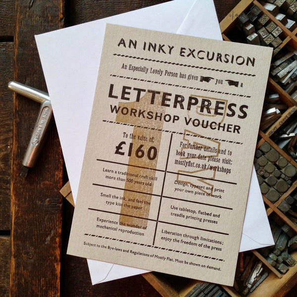 1-1 Letterpress workshop voucher