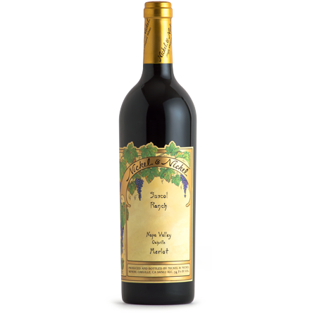 Nickel & Nickel Merlot Suscol Ranch Merlot 2015 - 750ml