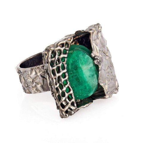 annabelle-demo3 Rings Arty Emerald Ring