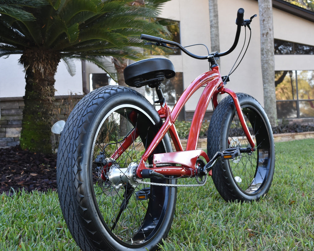 ladies fat tire beach cruiser