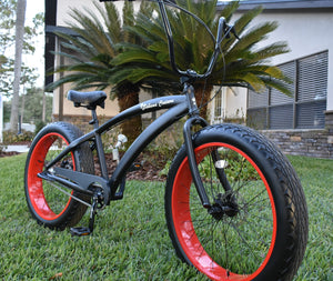 Fat Tire Cruisers, Beach Cruiser Bike, Custom Bicycles