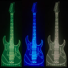 Official Steve Vai LED Ghost Guitar Lights
