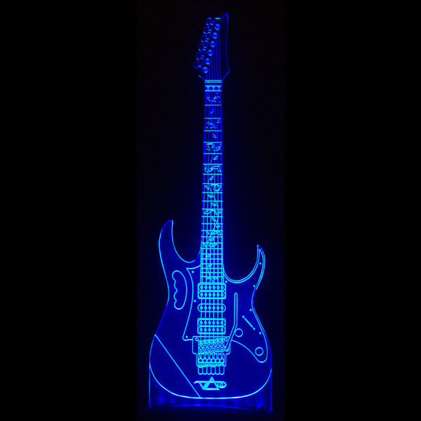 official steve vai led diodak ghost guitar lights steve vai. Black Bedroom Furniture Sets. Home Design Ideas