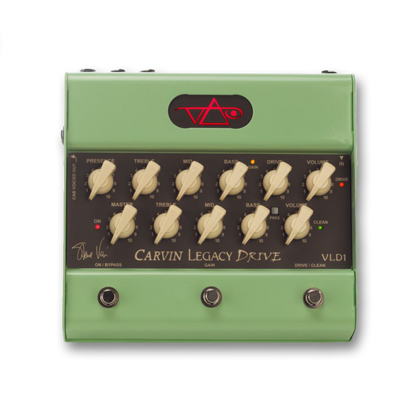 Carvin/Steve Vai VLD1 Legacy Drive Preamp Pedal