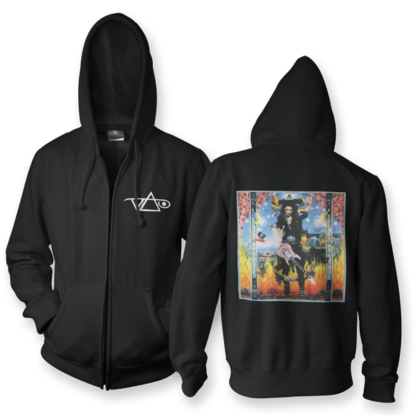Passion and Warfare Zip Up Hoodie