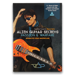 TrueFire/Steve Vai Alien Guitar Secrets Interactive Digital Download