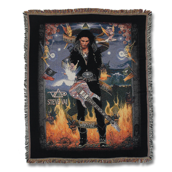 Passion and Warfare Woven Blanket