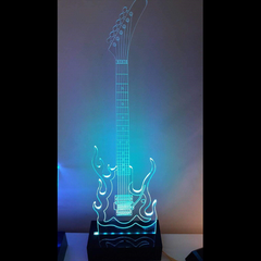 LED Diodak Ghost Guitar Lights