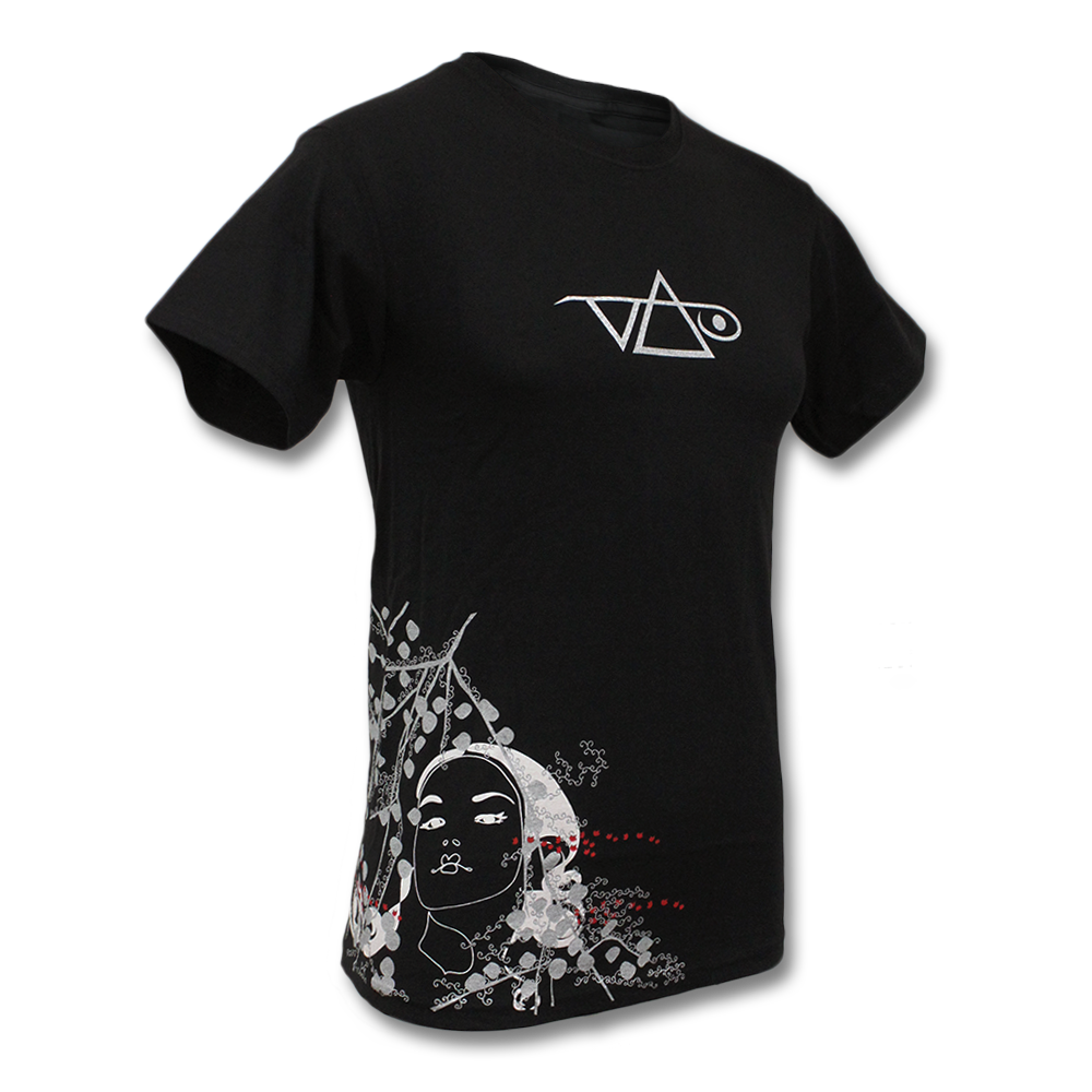 Official Steve Vai Cherry Logo T Shirt Steve Vai