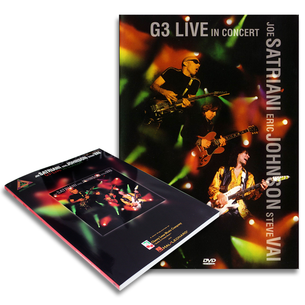 G3 DVD + Song Book Bundle