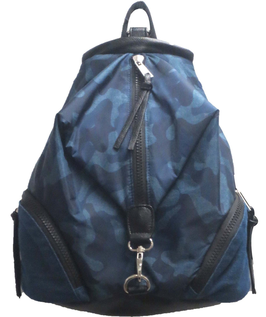 Sondra Roberts  Bag Nylon Backpack - Blue Camo JUJA Active