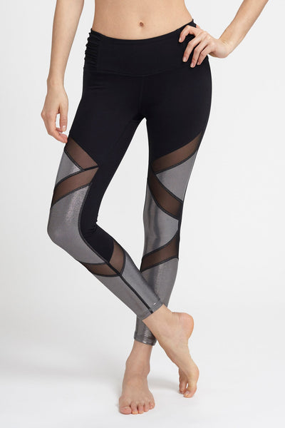 Body Language-Legging-JUJA Active-Sophia Legging - Black/Metal