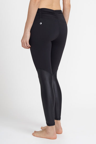 Chill By Will-Legging-JUJA Active-Blessed Legging - Black/Black Liquid