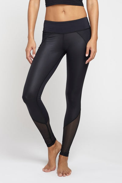 Chichi Active-Legging-JUJA Active-Demi Mesh Panel Legging