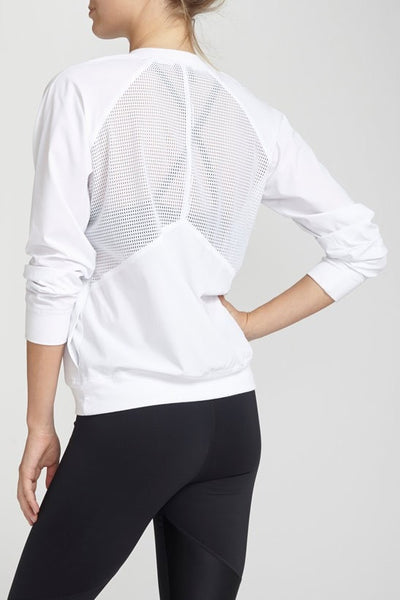 Chichi Active-Jacket-JUJA Active-Serena Jacket - White