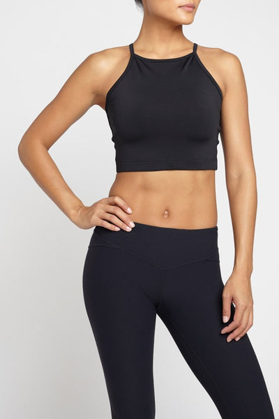 Chill By Will  Bra Top Alive Top - Black JUJA Active - 2