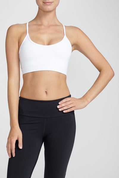 Chill By Will-Bra Top-JUJA Active-Surrender Bra - White