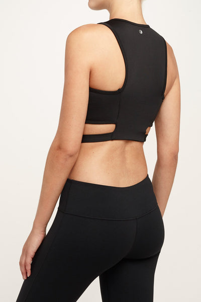 Chill By Will-Bra Top-JUJA Active-Amaze Top - Black