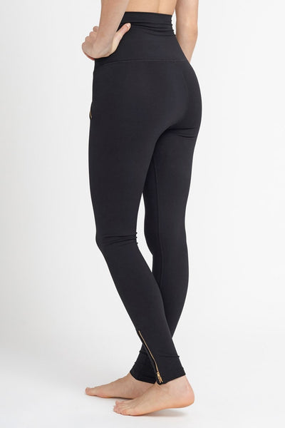 DYI-Legging-JUJA Active-Zipped Up Tight - Black