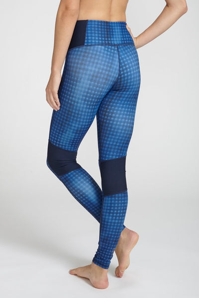 Electric & Rose-Legging-JUJA Active-Voyage Legging - Gingham