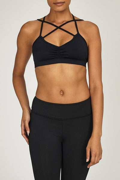 Electric & Rose-Bra Top-JUJA Active-Beach Sports Bra - Pirate