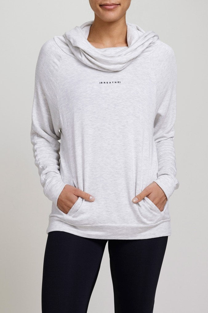 good hYOUman  Sweatshirt BREATHE - THE BAILEY JUJA Active - 1